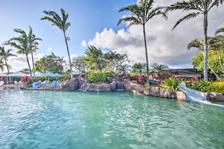 NEW! Kiahuna Resort Premier Condo - Walk to Beach!