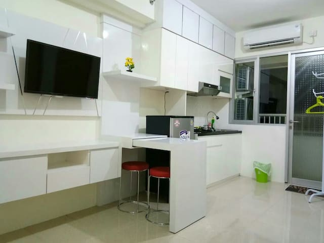 Two Bedrooms Corner Educity Apartment Pakuwon City