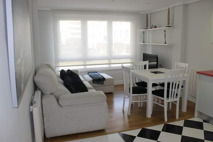 Apartamento pegado a la playa en Bakio