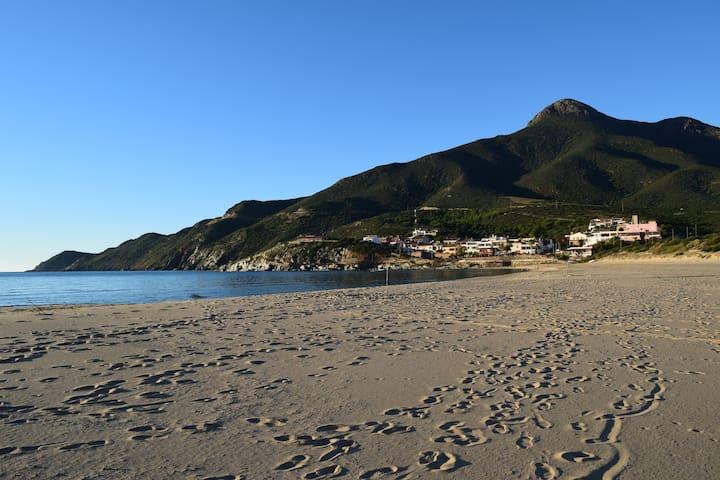 Gemütliche Ferienwohnung direkt am Meer