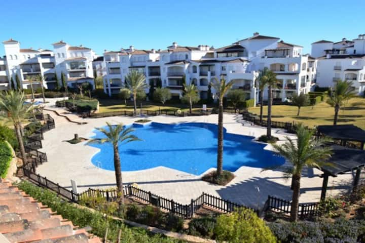 Stunning views from 2 bed La Torre Apartment