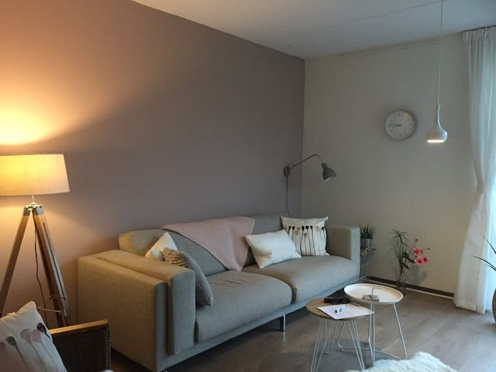 Culemborg station, cozy apartment, longterm rental