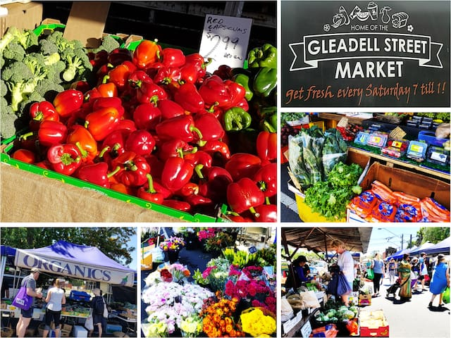 Gleadell Street Farmers Market. Every Sat 7am-1pm.