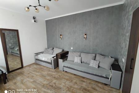 Однокімнатна квартира-студія з окремим входом