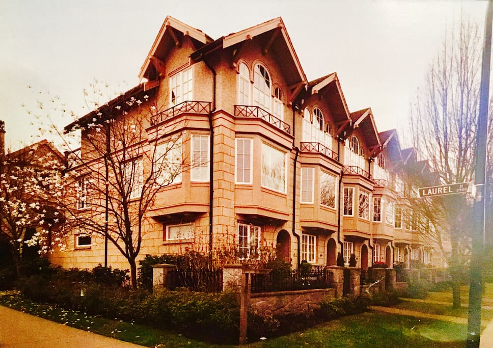The brownstones building