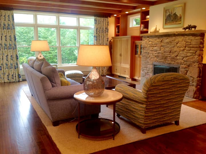 Woodside Lodge ~ An Exceptional Home in Stowe