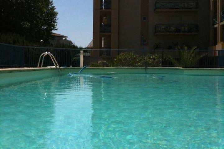 Studio anglet avec piscine