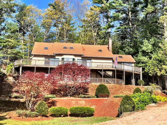 Ossipee Lake home 400 yards from the beach