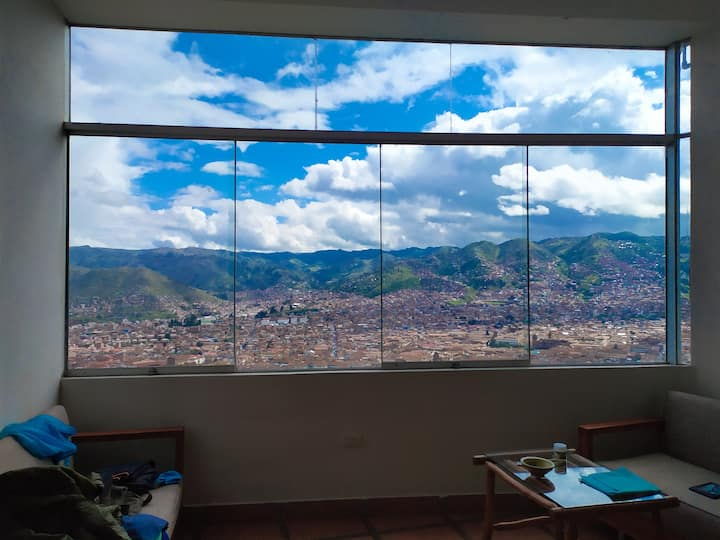 Alejandro's Mirador. Great view!!