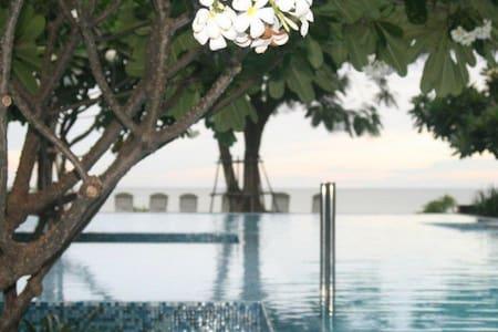 Hua Hin Condo 76sqm w/Beach Access - Tambon Hua Hin - Lägenhet