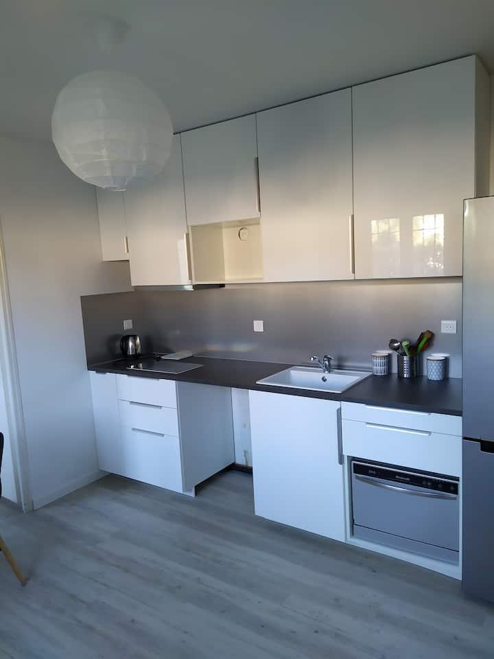 T2 attenant à villa 30 m²