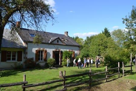 Magnifique maison forestière en pleine nature - Nibelle - Dom
