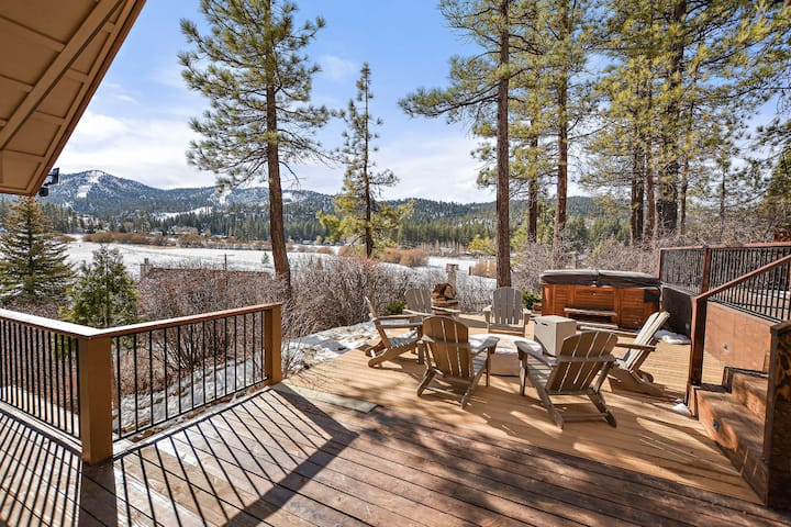 Tehama Ridge: Ski Slope and Golf Course Views! Outdoor Hot Tub!
