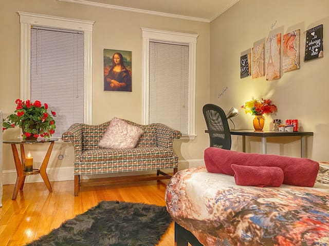 ADORABLE PARIS CONCEPT P/ROOM CLOSE TO HARVARD SQ