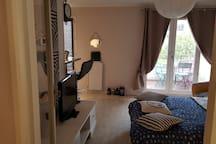 Charmant appartement  sur l'île de Nantes.
