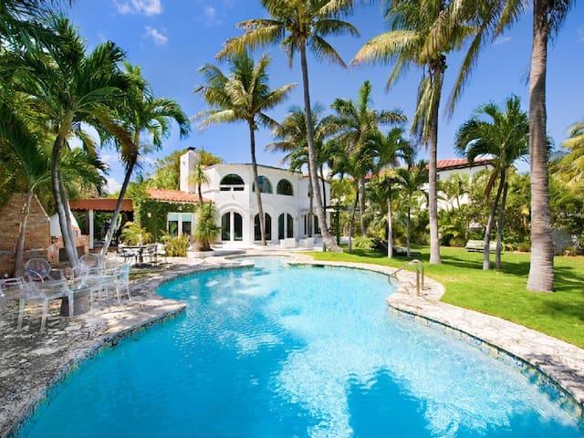 Exclusive Villa in Miami Beach, Florida. - Miami Beach - Villa