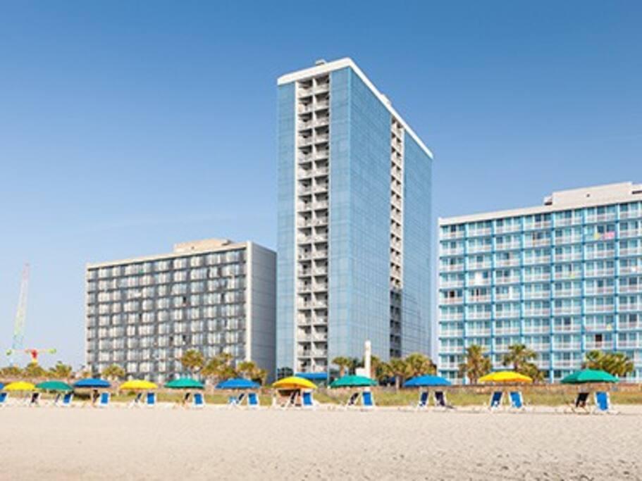Seaglass Tower -- Oceanfront resort