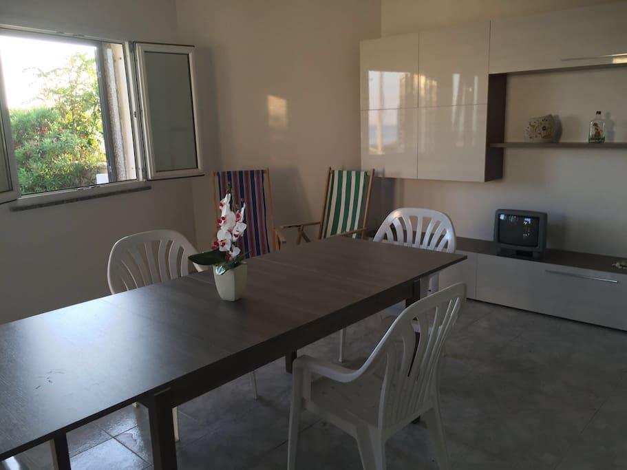 Sala pranzo/soggiorno