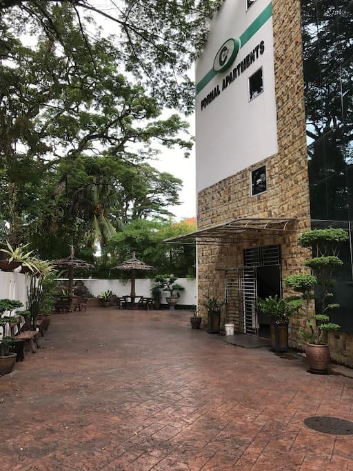 Formal Apartment Main Entrance