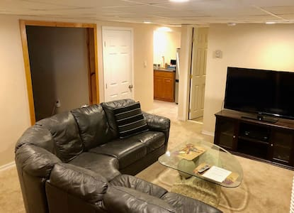 Private 1BR Apt w/ Keypad Entry & Separate Entry!