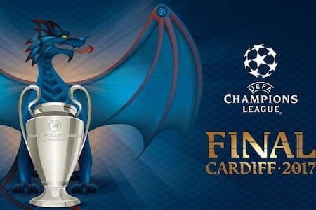 CHAMPIONS LEAGUE FINAL 20 minutes away