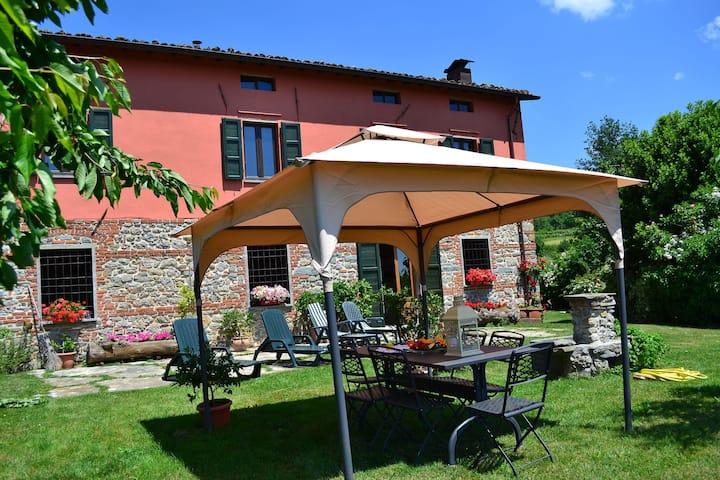 Komfortables Ferienhaus mit eigenem Garten in der Toskana