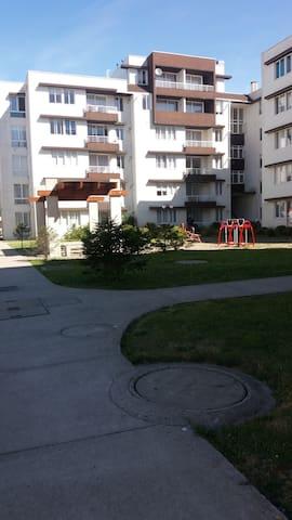 Habitación en Condominio Jardin urbano