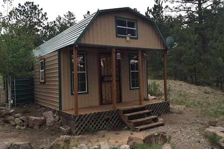 Getaway tiny house cabin near royal gorge bridge. - Cabaña