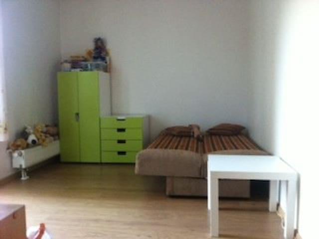Cолнечная комната с балконом вновостройке RU ES EN - Riga - Apartmen