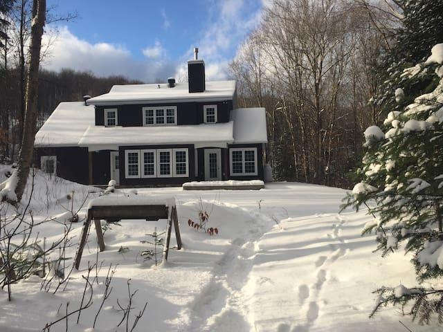 Cozy house on 16 acres property, IRON MAN training