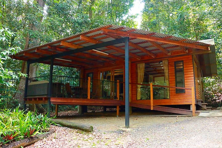 Figtree Getaway cabins in rainforest - Malanda - Cottage