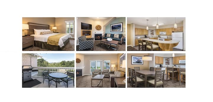 2 Bed Windsor~NO FEES~Slps 6~Wyndham~WINE COUNTRY