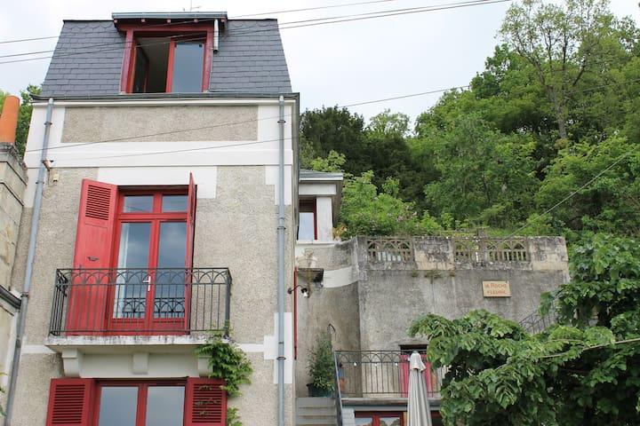 La Roche Fleurie - Saint-Étienne-de-Chigny - Haus