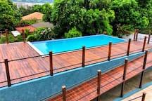 Enjoy the beautiful infinity pool