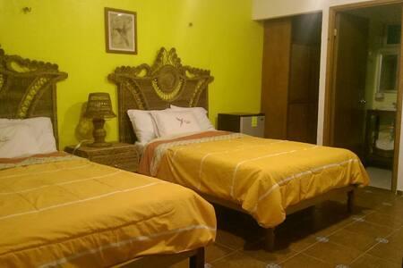 Habitación con dos camas/2 personas - Bacalar