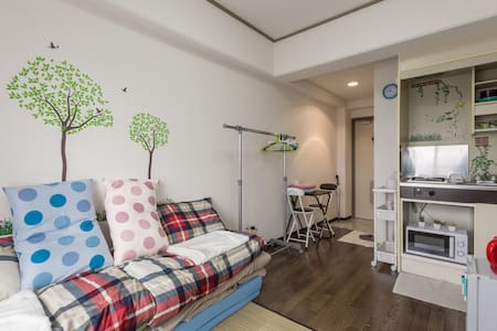 新张优惠! 清水五条站走路六分钟小公寓,免费携带型行动Wifi,最近的巴士站走路1分钟,房东能说中文 - Shimogyo-Ku, Kyoto - อพาร์ทเมนท์