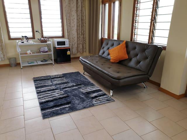 Condor - Sofa bed & TV area & Tea & Coffee area