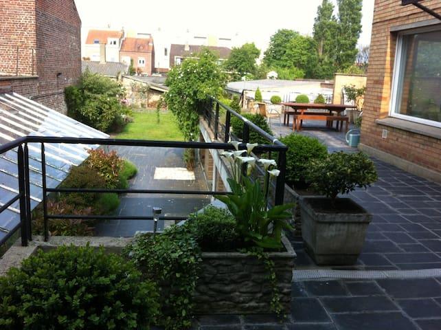 Chambres avec coin salon - Dunkerque - Casa
