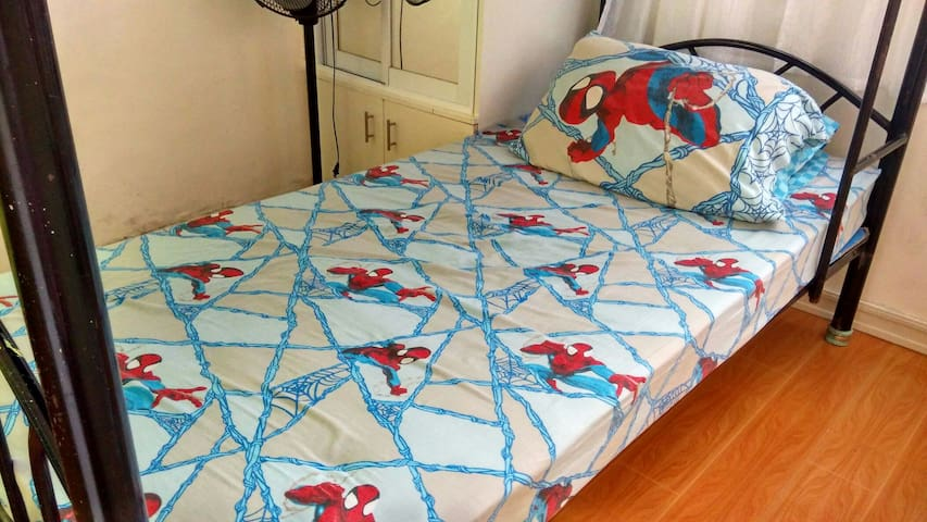 Backpackers Rm BedA Budget Friendly - PH - Apartamento