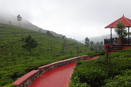 A Tea plantation escape At green nest - Villa