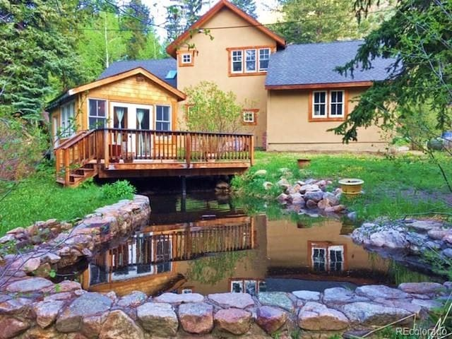 Creek-side Mountain Home - Waterfall Woods