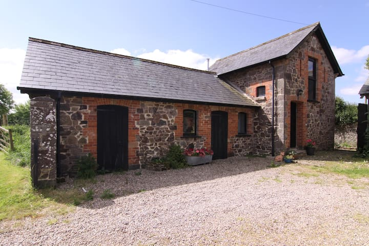 Quirky converted stone Barn. - North Tawton - Overig