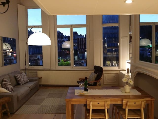 Stylish loft in the heart of Amsterdam! - Amsterdam - Apartment