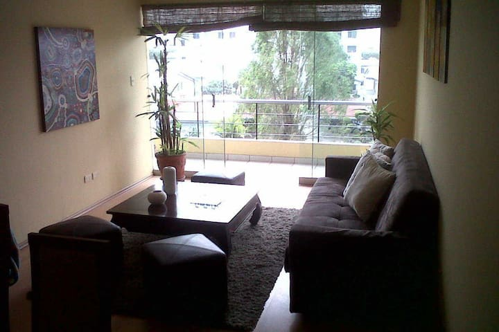 Dpto amplio para compartir con habitaciön privada - Santiago de Surco - Lakás