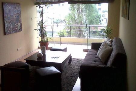 Dpto amplio para compartir con habitaciön privada - Santiago de Surco - 公寓