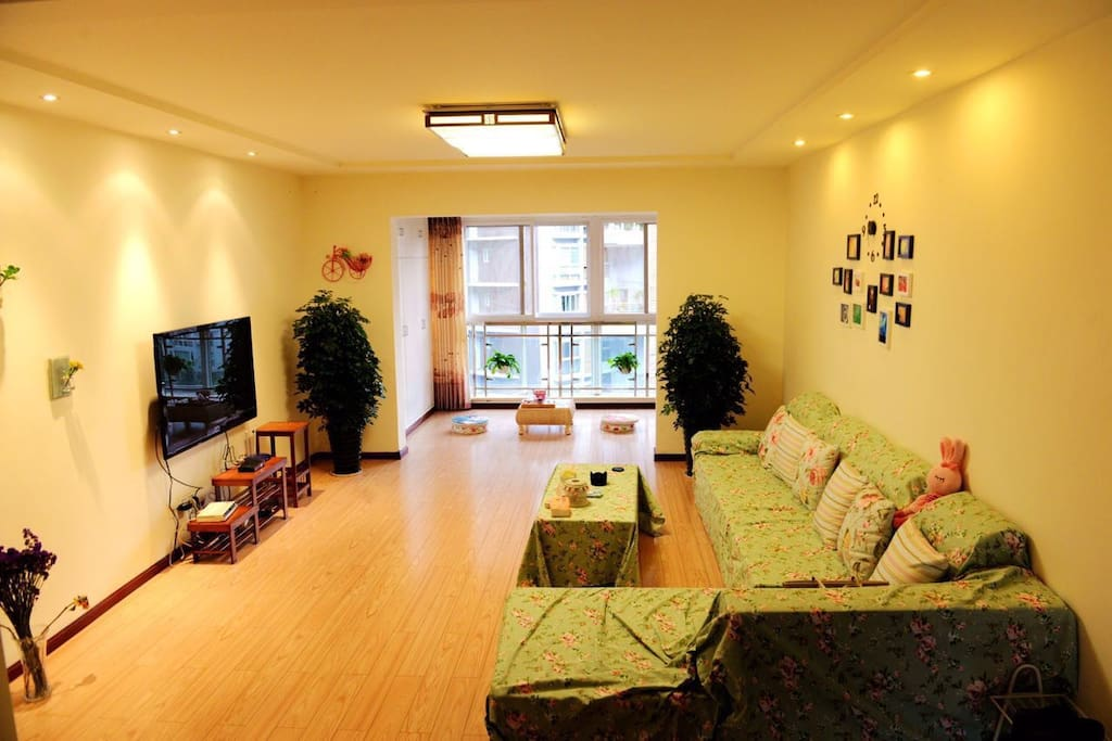小清新客厅,。