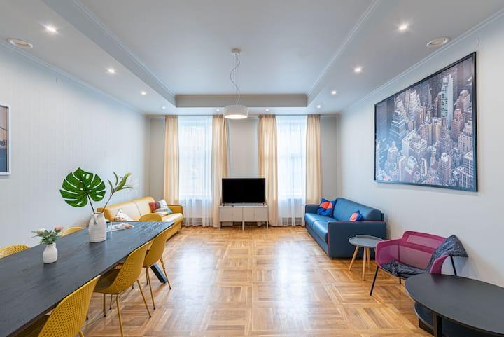 Ropažu ⓸ Своя комната в коттедже XIXв около центра
