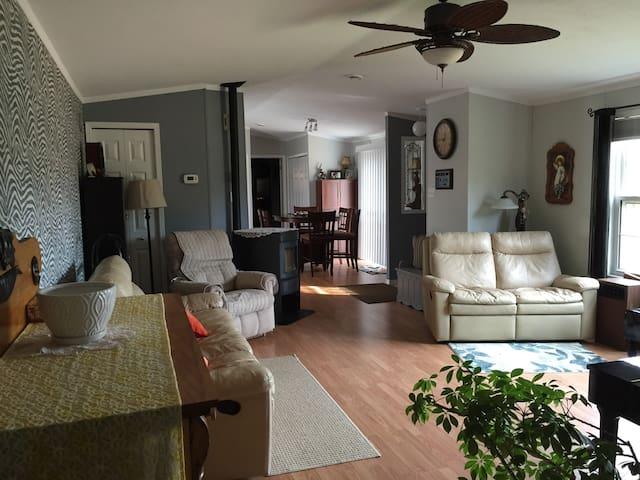 Cozy Cottage - Donaldston rte 219  - Casa