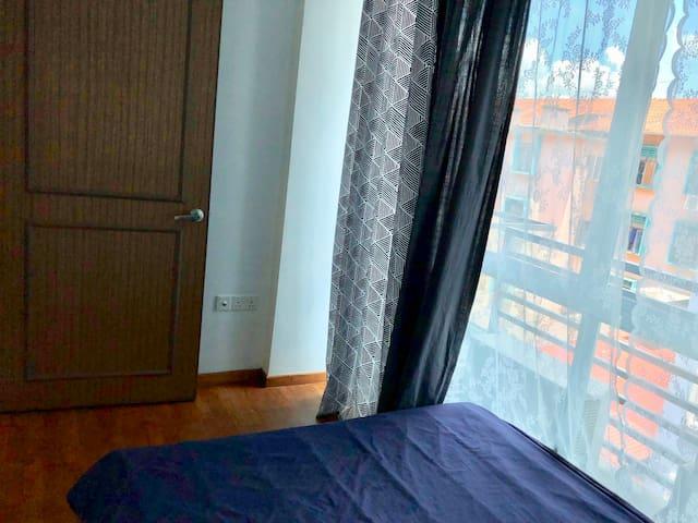 Bedroom 2 spacious space