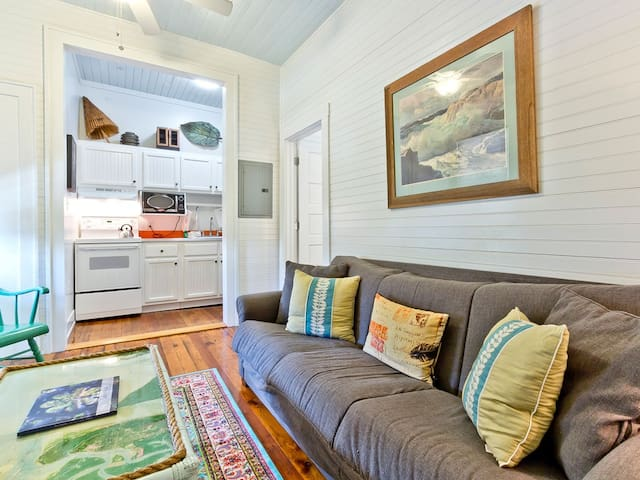 Newly Renovated and Furnished Historic Tybee Apartment Only Steps to Beach - Beachwalk 4